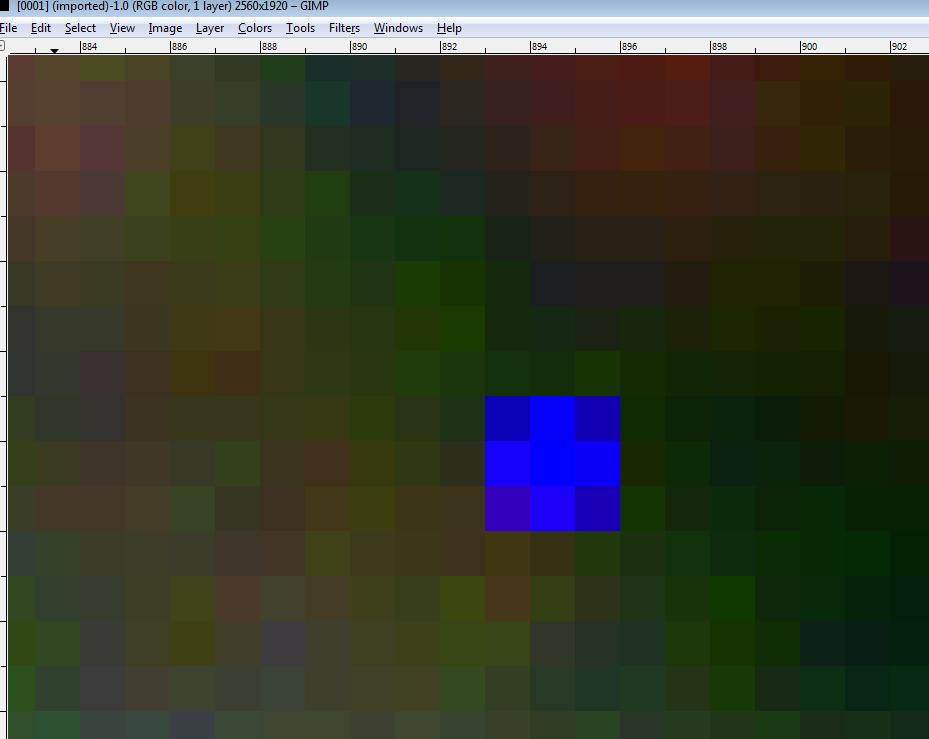 Removing Bad, Hot, Dead Pixels – GIMP – An Autonomous Agent